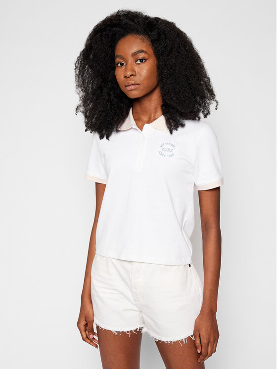 Vans Vans Polo How To Duffy Po VN0A5ATC Biały Regular Fit
