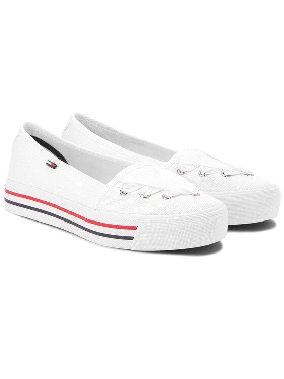 Tommy Jeans Tommy Jeans Tenisówki Lace Sneaker EN0EN00097 Biały