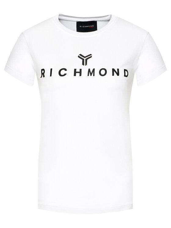John Richmond John Richmond T-Shirt Katya UWP21018TS Biały Regular Fit