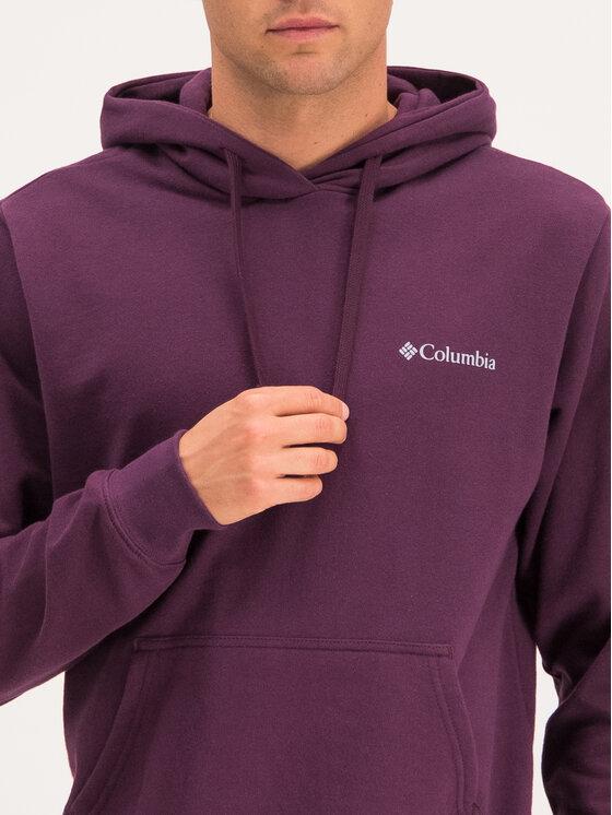 Columbia Columbia Felpa Sleeve Graphic Hoodie 1821014 Viola Regular Fit