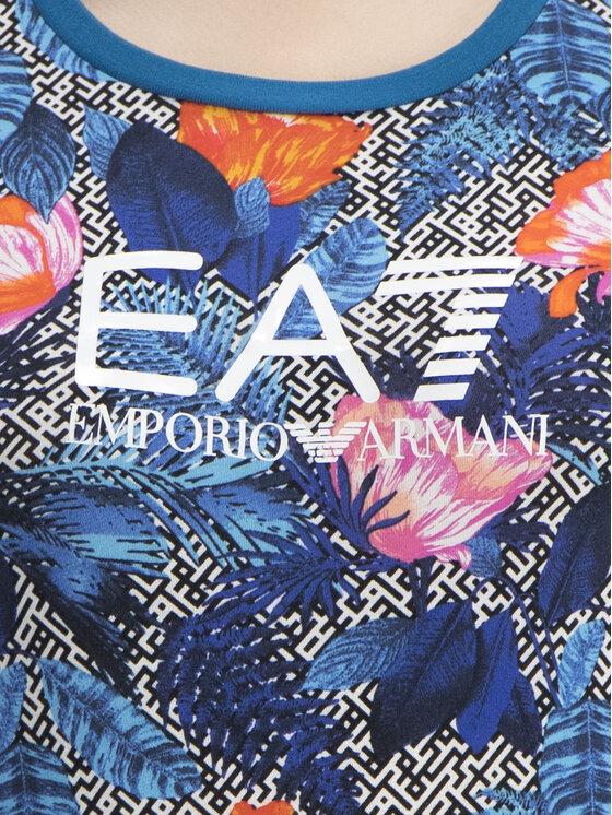 EA7 Emporio Armani EA7 Emporio Armani Marškinėliai 3GTT24 TJ12Z 2554 Mėlyna Slim Fit