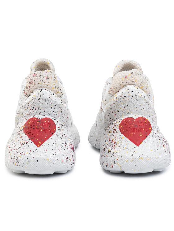 LOVE MOSCHINO LOVE MOSCHINO Laisvalaikio batai JA15476G08JD310A Balta