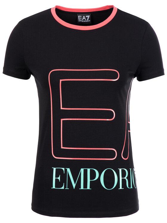 EA7 Emporio Armani EA7 Emporio Armani Тишърт 3GTT59 TJ29Z 1200 Черен Regular Fit