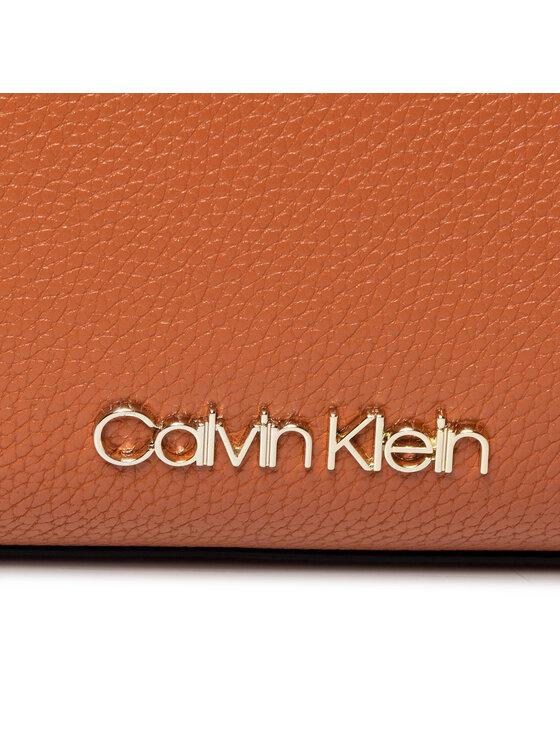 Calvin Klein Calvin Klein Torebka Neat Crossbody K60K606486 Brązowy