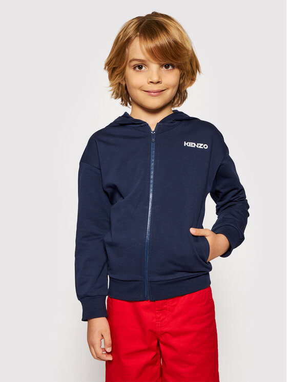 Kenzo Kids Džemperis K15051 S Tamsiai mėlyna Regular Fit