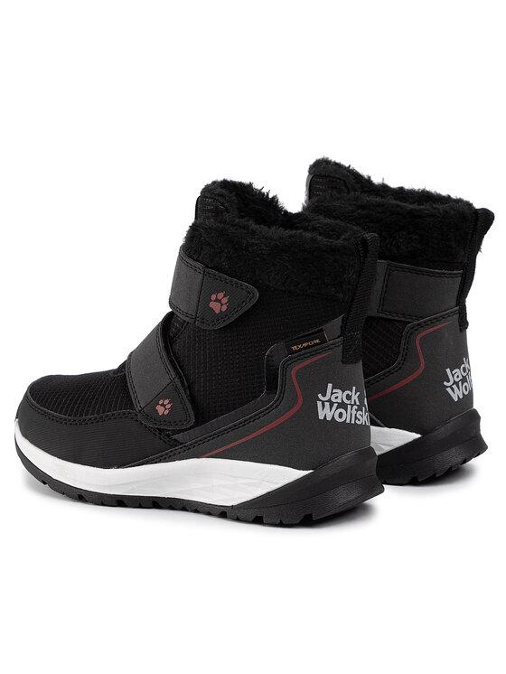 Jack Wolfskin Jack Wolfskin Μπότες Χιονιού Polar Wolf Texapore Mid Vc K 4036171 Μαύρο