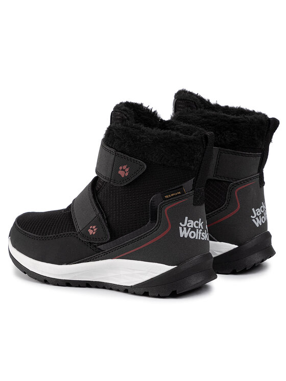 Jack Wolfskin Jack Wolfskin Sněhule Polar Wolf Texapore Mid Vc K 4036171 Černá