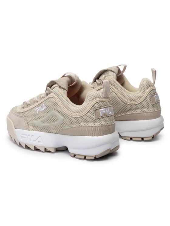 Fila Fila Sneakersy Disruptor Mm Low Wmn 1010607.00Y Beżowy