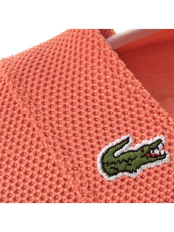 Lacoste Lacoste Πάνινα παπούτσια Marice 117 1 Caw 7-33CAW10372K9 Πορτοκαλί