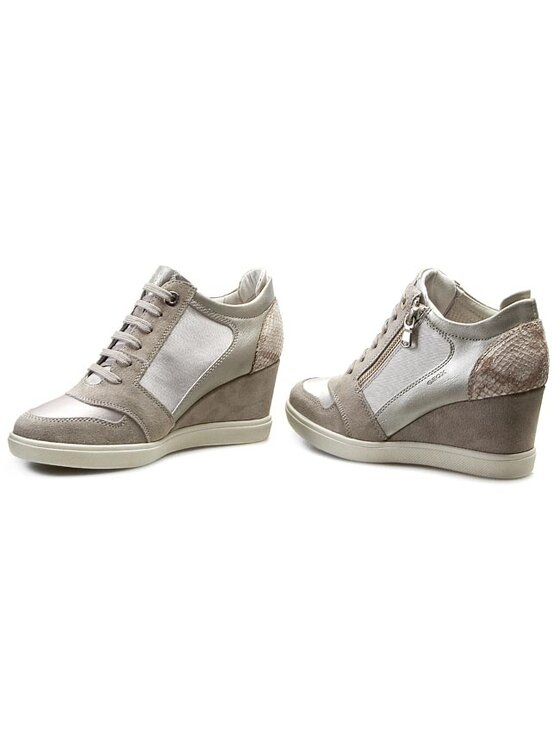 Geox Geox Laisvalaikio batai D Eleni B D4467B 0AS22 C1010 Pilka