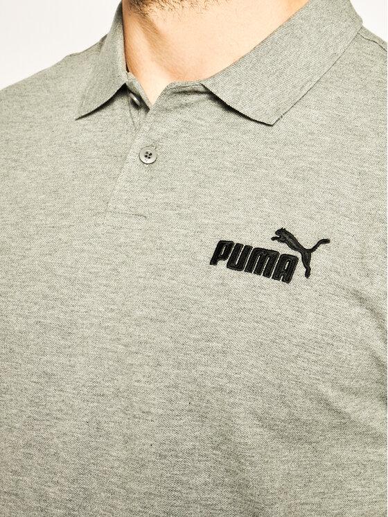Puma Puma Polokošile Ess Pique 851759 Šedá Regular Fit