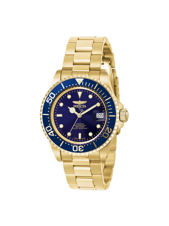 Invicta Watch Laikrodis 8930OB Auksinė