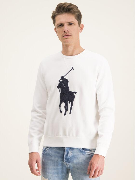 Polo Ralph Lauren Polo Ralph Lauren Pulóver 710766862011 Fehér Regular Fit