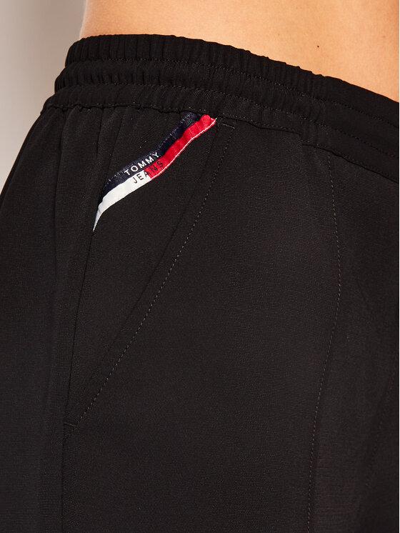 Tommy Jeans Tommy Jeans Αθλητικό σορτς Smart Jog DW0DW07982 Μαύρο Loose Fit