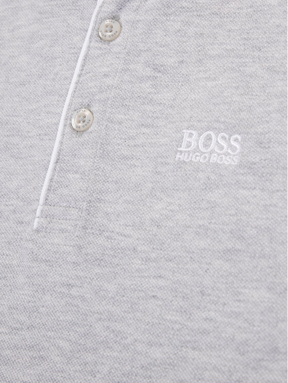 Boss Boss Polo J25E91 D Gris Regular Fit