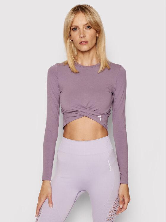 Carpatree Techniniai marškinėliai Gaia GLT-P Violetinė Slim Fit