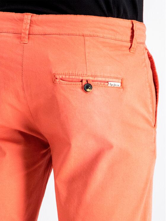 Pepe Jeans Pepe Jeans Шорти от плат PM800227C75 Оранжев Regular Fit