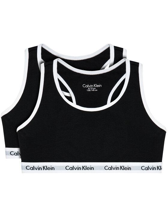 Calvin Klein Underwear Calvin Klein Underwear Komplet 2 biustonoszy G80G800437 Czarny