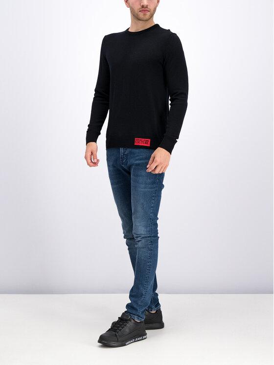Versace Jeans Couture Versace Jeans Couture Sweater B5GUA817 Fekete Regular Fit