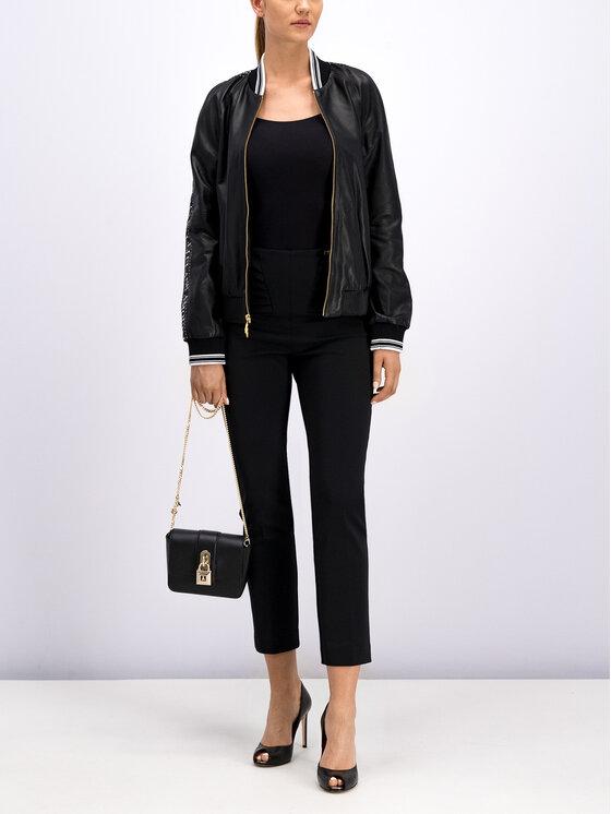 Cavalli Class Cavalli Class Текстилни панталони A1ITB131 Черен Regular Fit