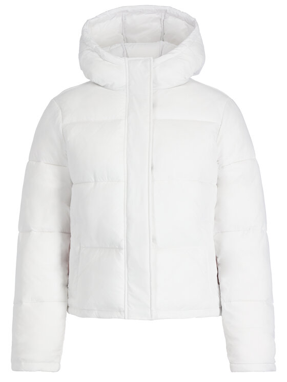 Calvin Klein Jeans Calvin Klein Jeans Kurtka zimowa Monogram J20J212080 Biały Regular Fit