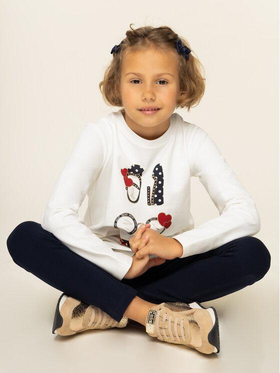 Liu Jo Kids Liu Jo Kids Komplet bluzka i legginsy Felpa K69071 F0090 Kolorowy Slim Fit
