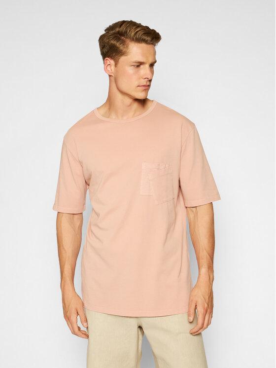 Imperial Marškinėliai TJ08BCKTD Rožinė Oversize