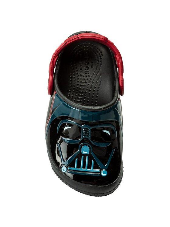Crocs Crocs Чехли Funlab Lights Darth Vader 204137 Черен