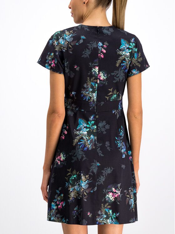MAX&Co. MAX&Co. Φόρεμα κοκτέιλ 82240119 Σκούρο μπλε Regular Fit