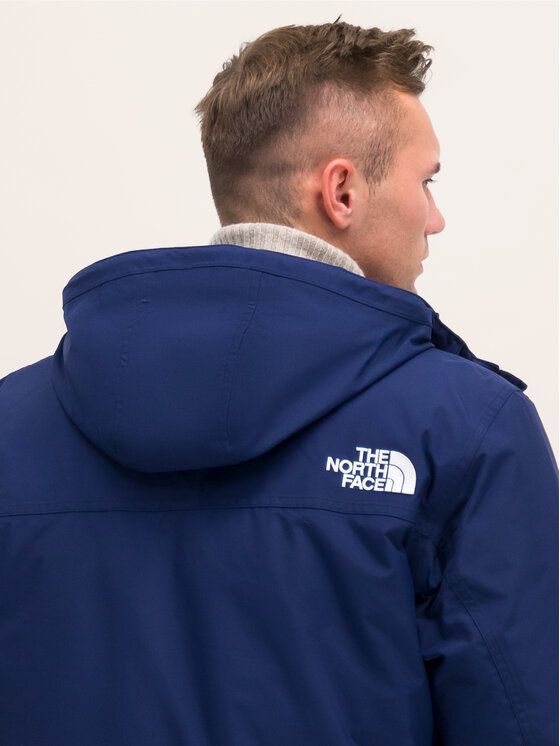 The North Face The North Face Pūkinė striukė Drew Peak NF0A8Q4JC6 Tamsiai mėlyna Regular Fit
