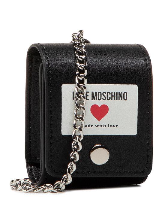 LOVE MOSCHINO Ausinių dėklas JC6401PP1CLI0000 Juoda