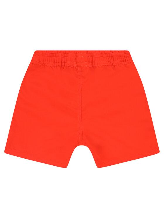 Boss Boss Szorty kąpielowe J04368 M Pomarańczowy Regular Fit