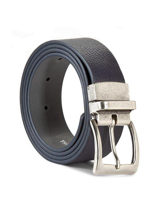 Trussardi Trussardi Jeans Pasek Męski Cintura Reversible Cinttu 71C055XX 90 Granatowy