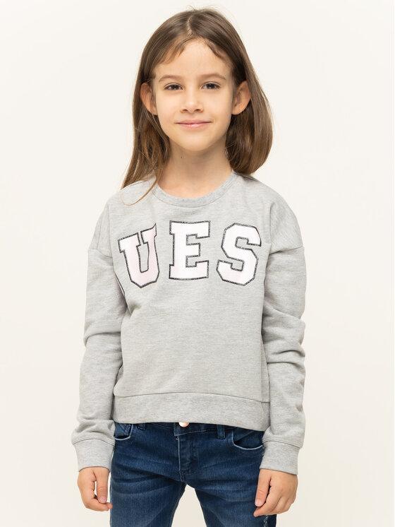 Guess Guess Sweatshirt K93Q01 K87L0 Grau Regular Fit