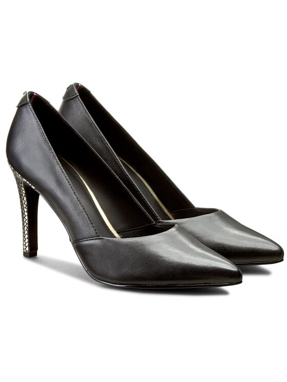 Tommy Hilfiger Tommy Hilfiger Pantofi cu toc subțire Arianna 6Z FW56822012 Negru
