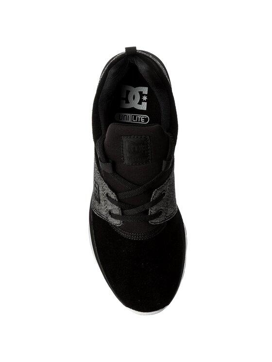 DC DC Sneakersy Heathrow Se ADYS700073 Czarny