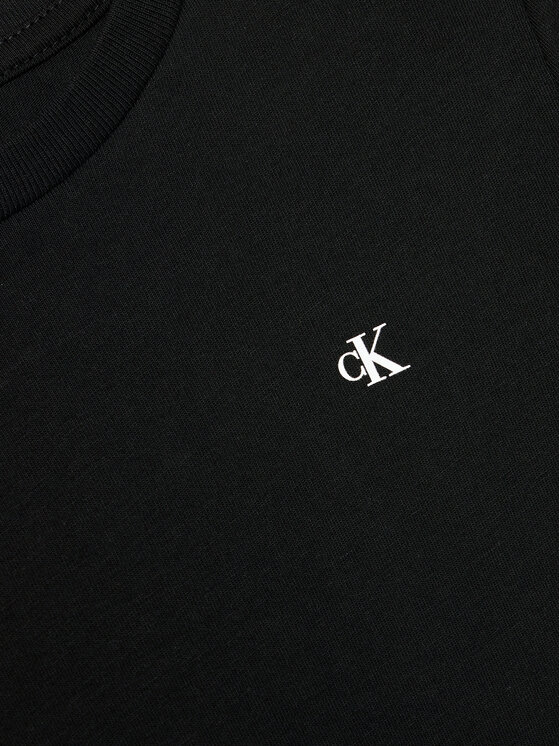 Calvin Klein Jeans Calvin Klein Jeans Bluzka Institutional Spray IB0IB00896 Czarny Regular Fit