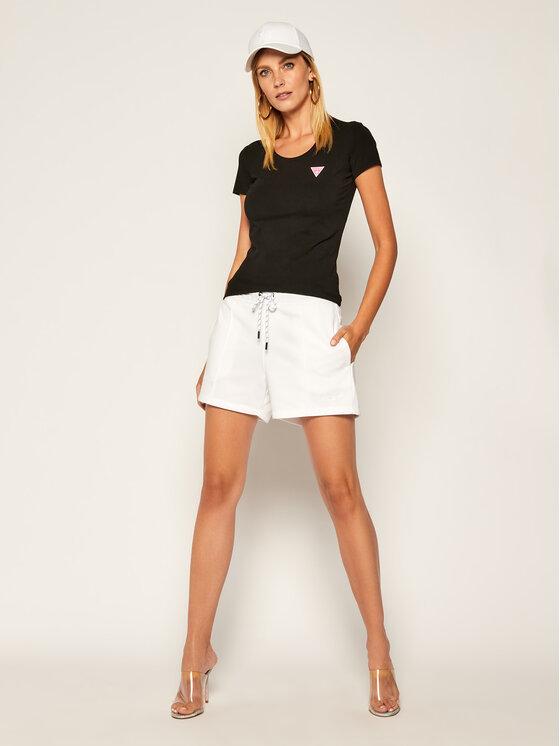 Guess Guess T-Shirt Kamelia W0YI87 J1300 Černá Slim Fit