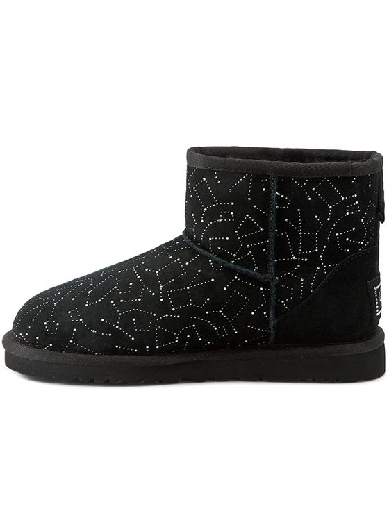 Ugg Ugg Buty W Classic Mini Constellation 1010244 Czarny