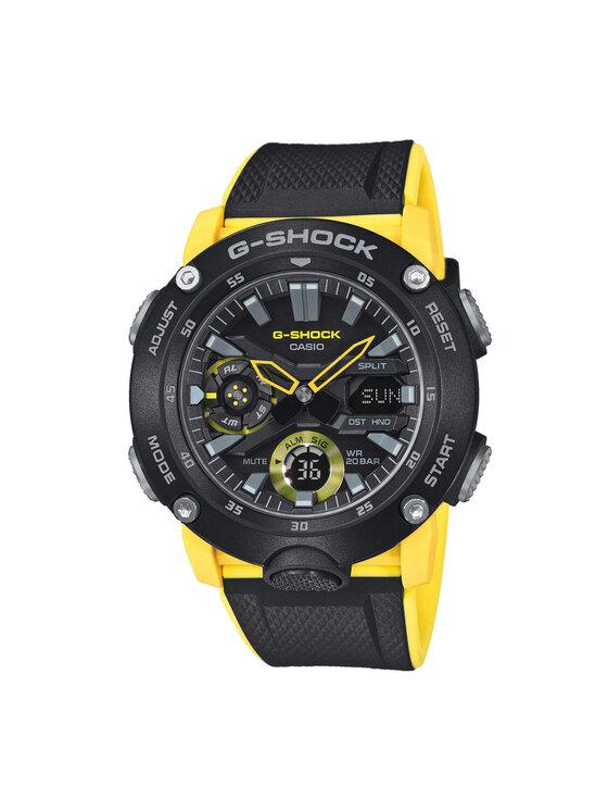 G-Shock Laikrodis GA-2000-1A9ER Juoda