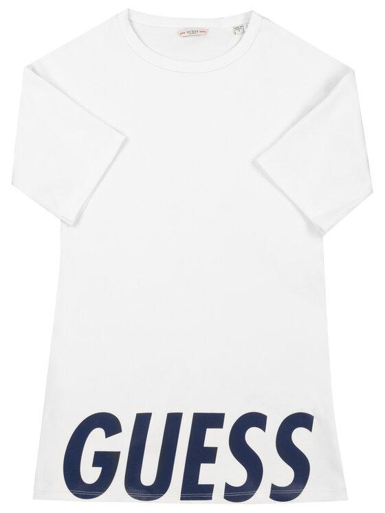 Guess Guess Kleid für den Alltag J94K14 K83X0 Weiß Regular Fit