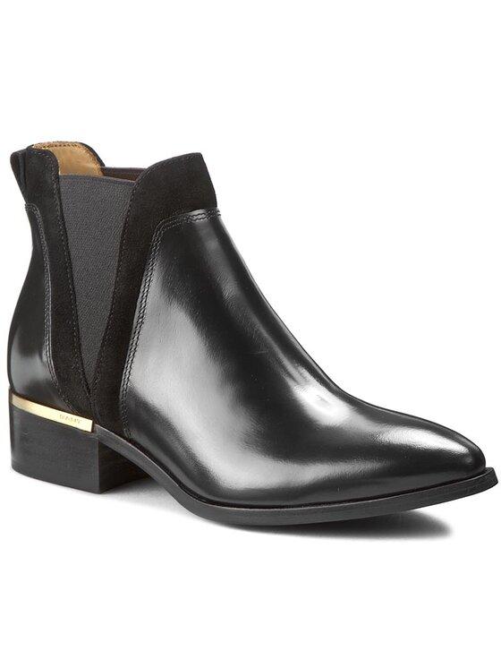 Gant Gant Kotníková obuv s elastickým prvkem Lisa 13541432 Černá