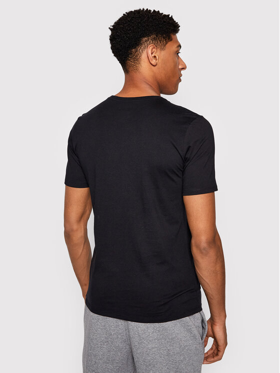 Nike Nike T-Shirt Air Jordan Jumpman Embroidered AH5296 Czarny Standard Fit