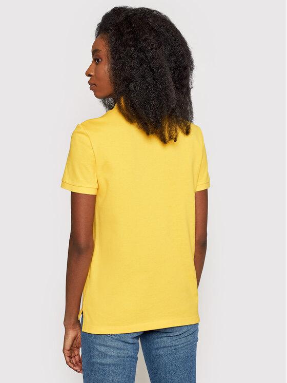 Lacoste Lacoste Polo PF7839 Żółty Regular Fit