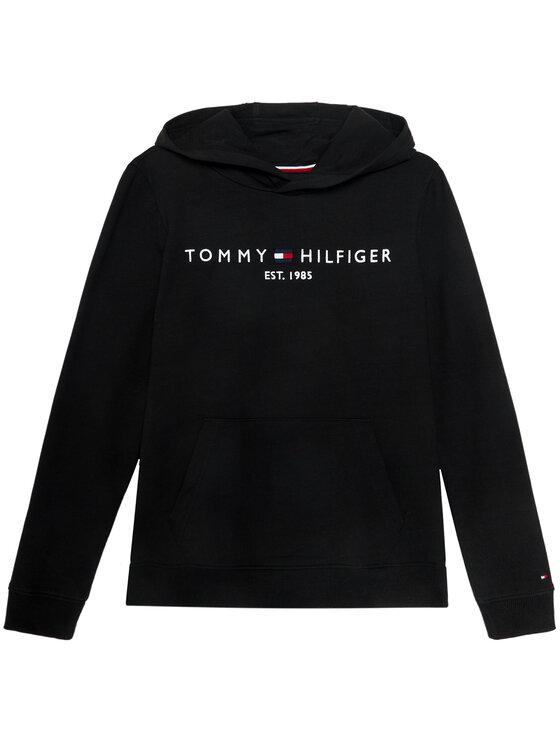 Tommy Hilfiger Tommy Hilfiger Bluza Essential Hoodie KB0KB05796 D Czarny Regular Fit