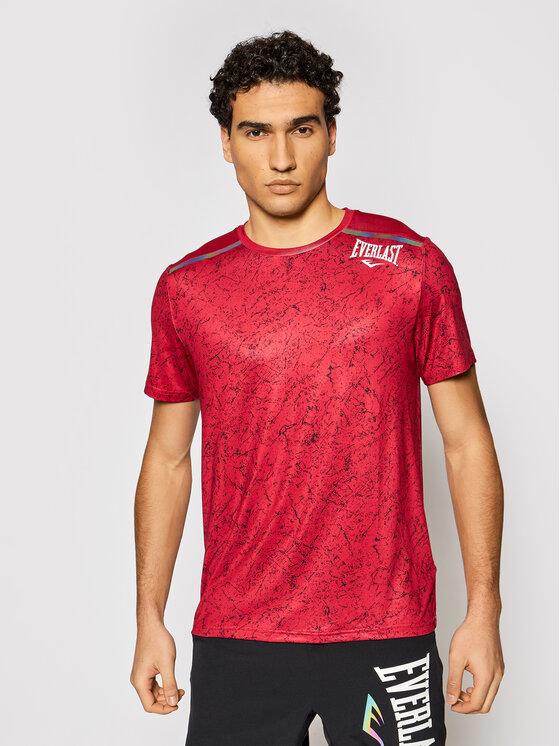 EVERLAST Marškinėliai 804450-60 Raudona Regular Fit