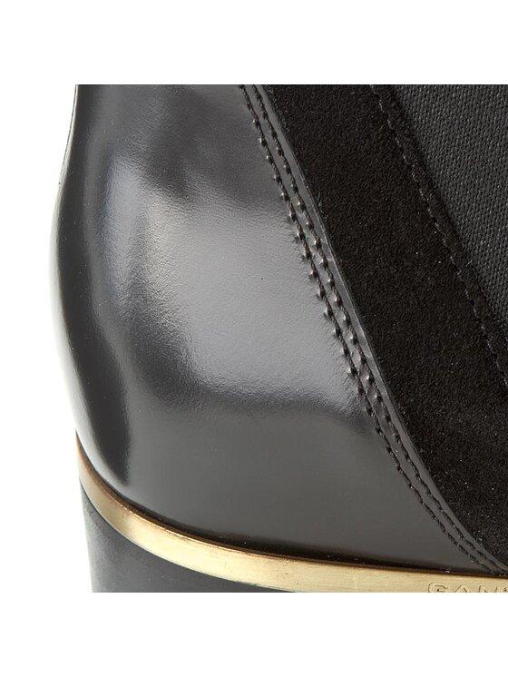 Gant Gant Боти тип челси Lisa 13541432 Черен