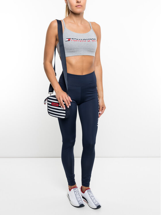 Tommy Sport Tommy Sport Σουτιέν τοπ S10S100046 Γκρι
