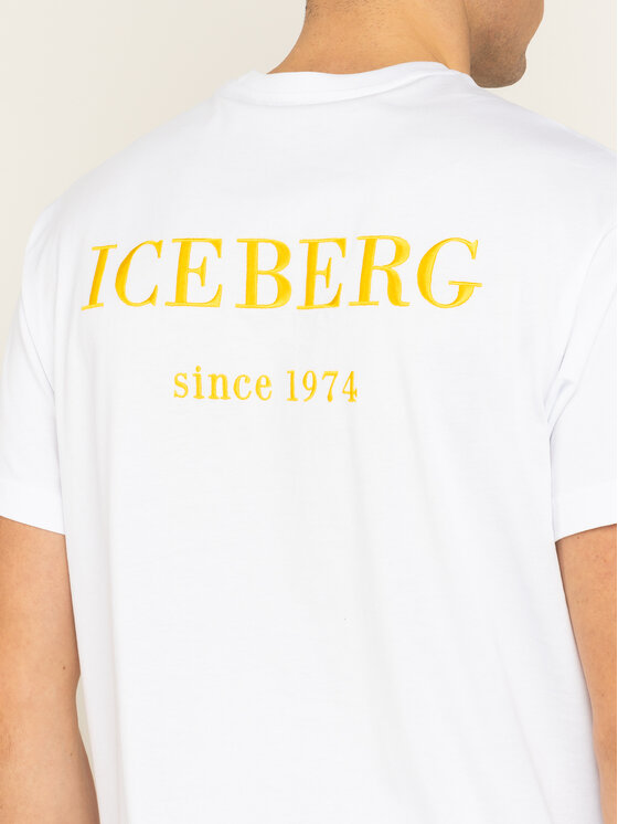 Iceberg Iceberg T-shirt 20EI2P0F06363011101 Bianco Regular Fit