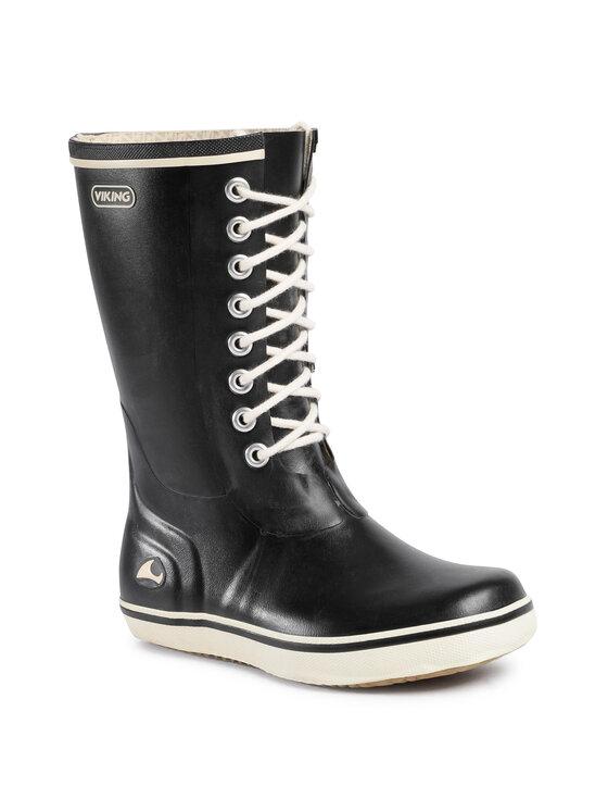Viking Guminiai batai Retro Light 1-34120-2 Juoda